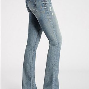 GUESS Starlet Straight Distressed Jeans